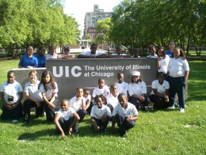 VLCS students at UIC